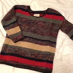 Madewell long sweater